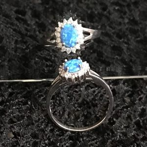 Jewelry - 🆕Opal 925 Sterling Silver ring